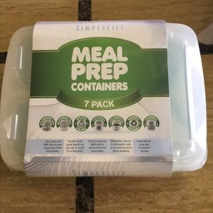 Accessories - 7packs Meal Prep Containers
